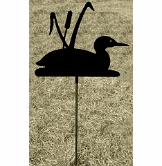 Loon Garden Stake