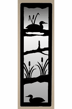 Loon Large Accent Mirror Wall Art