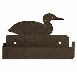 Loon One Piece Toilet Paper Holder