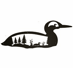 Loon Silhouette Wall Art - 4 sizes