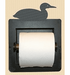 Loon Toilet Paper Holder (Recessed)