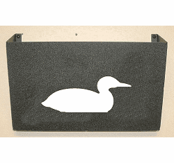 Loon Wall Mount Magazine Rack