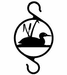 Loon with Cattails Multi-Purpose Hanger Hook