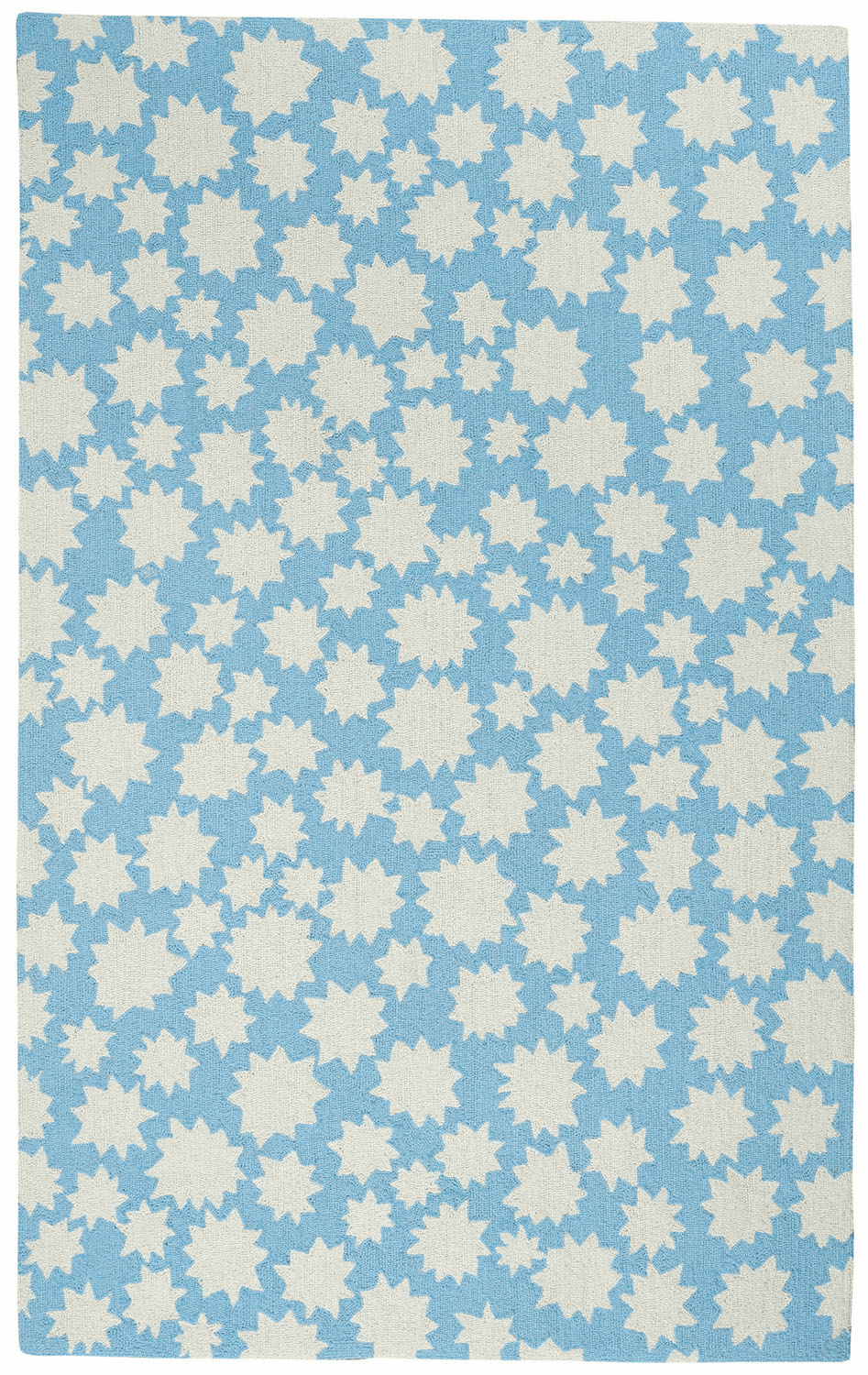 Loop Hooked Blue Seas Rug