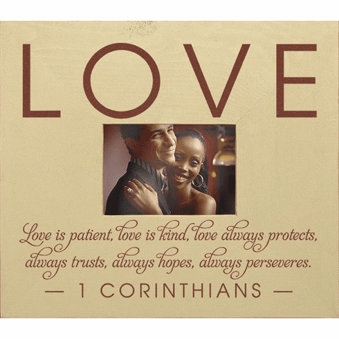 Love - Love is Patient, Love is Kind Frame