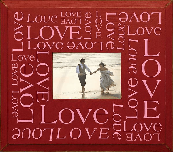Love Word Jumble Frame
