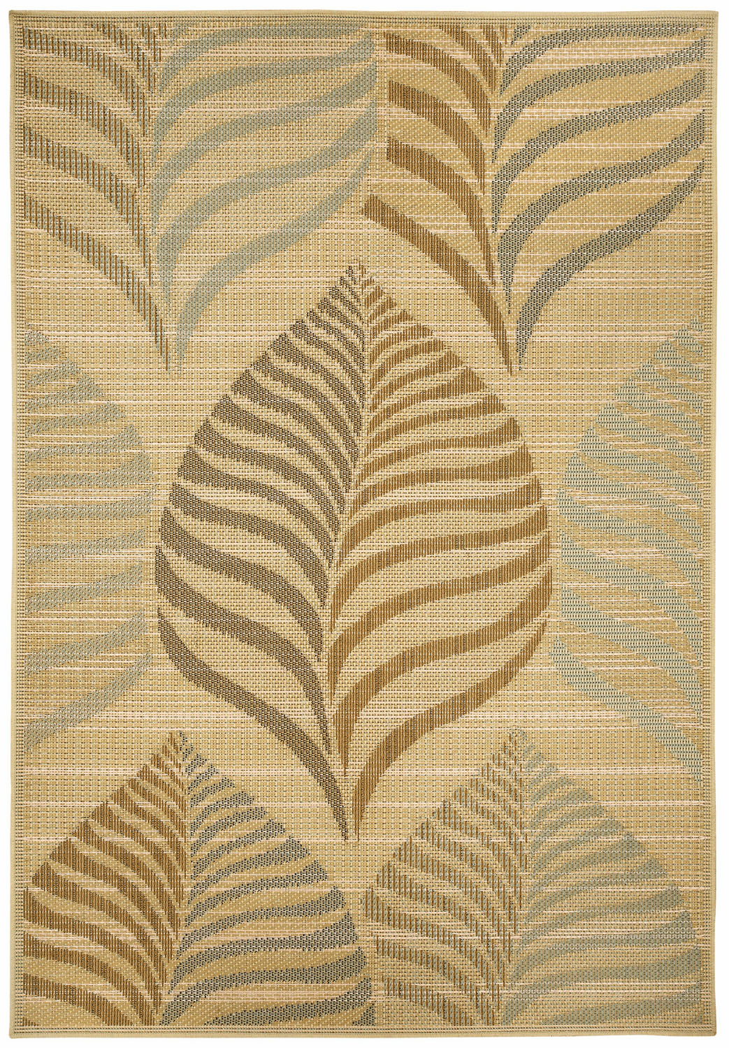 Machine Woven Blonde Rug