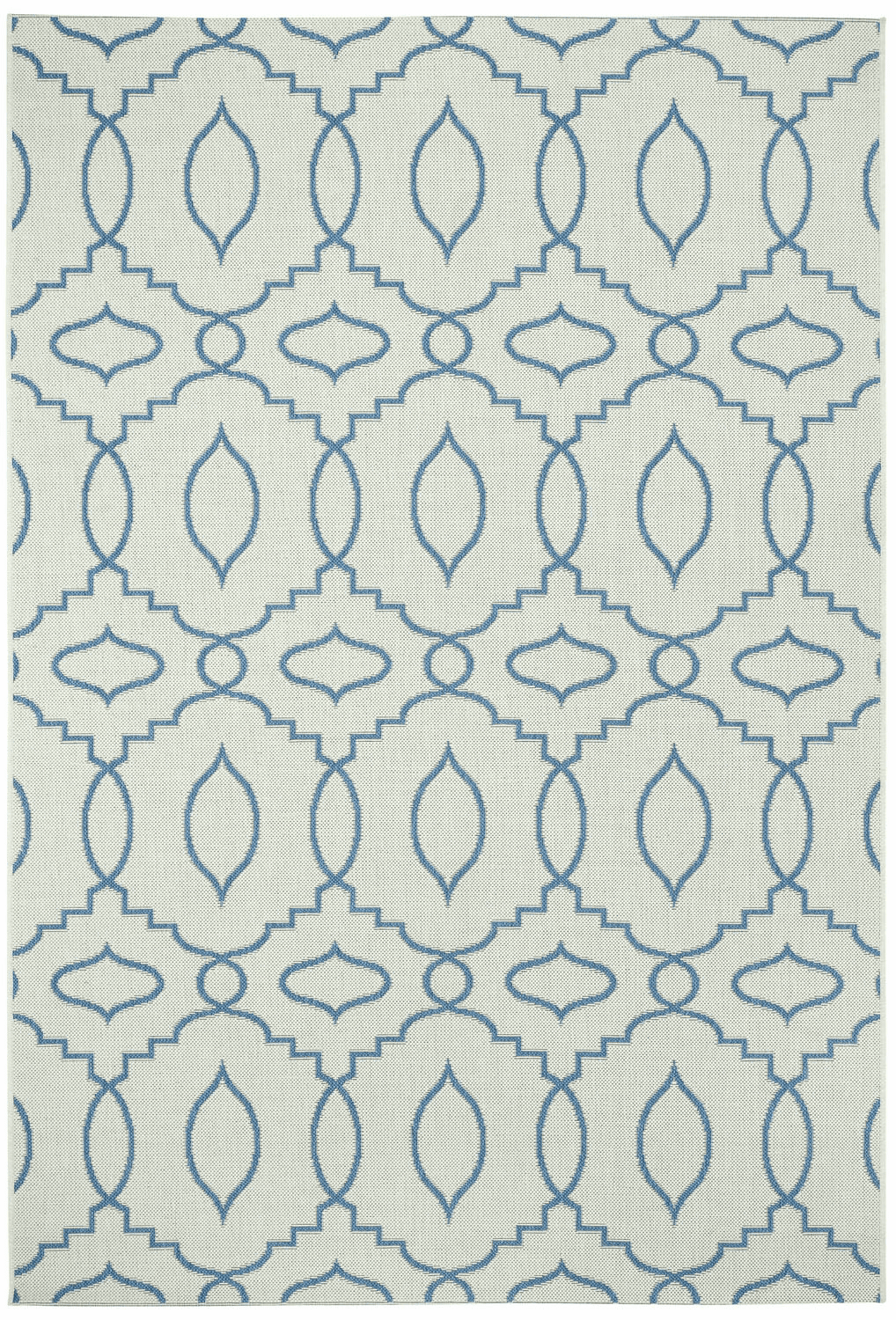 Machine Woven Blueberry Rug