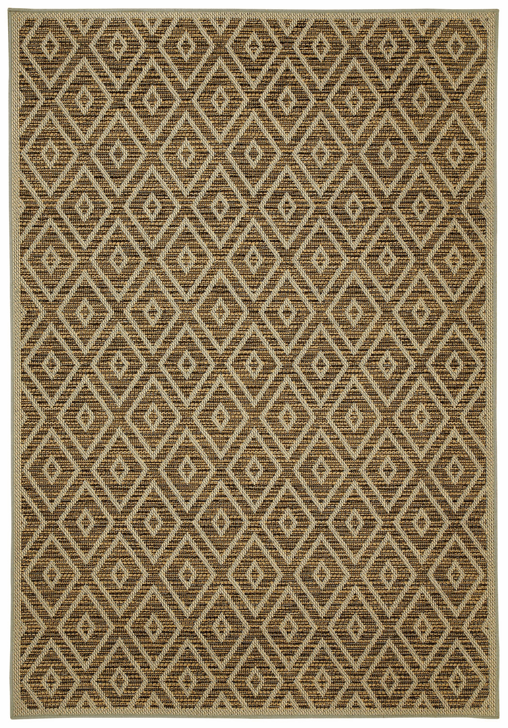 Machine Woven Chocolate Rug