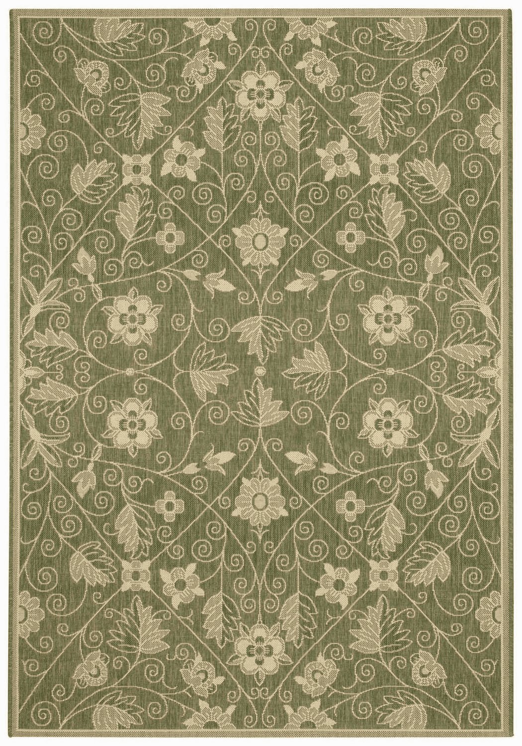 Machine Woven Grey Rug