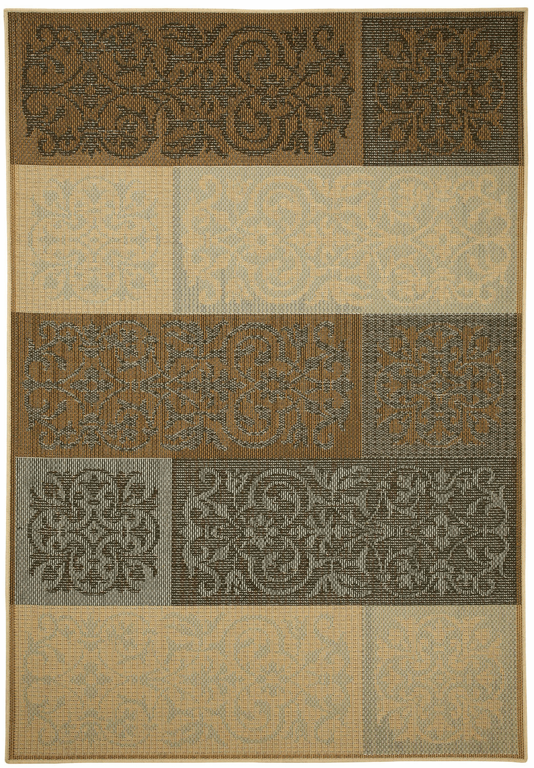 Machine Woven Multitone Rug
