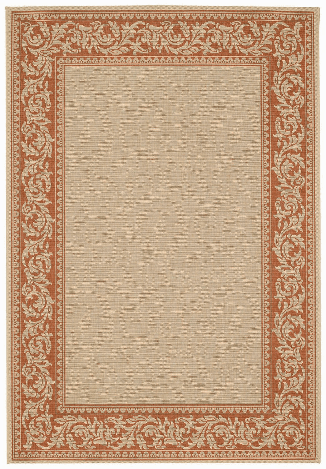 Machine Woven Potters Clay Rug
