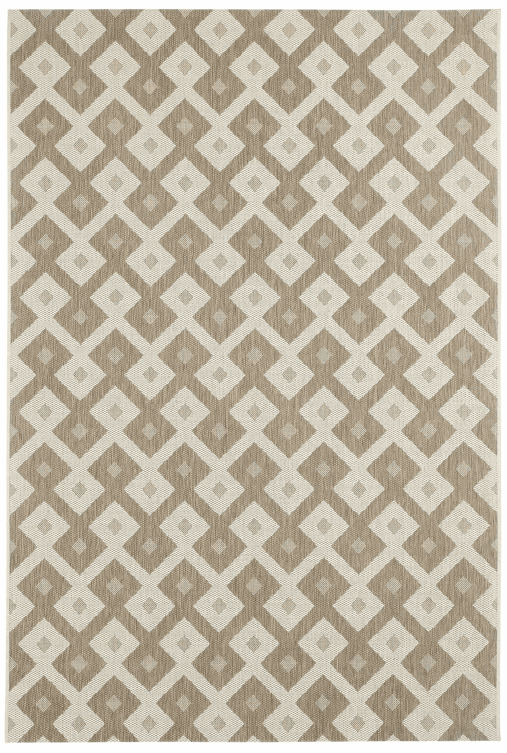 Machine Woven Wheat Rug