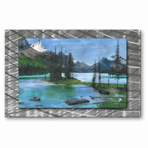 Maligne Lake Wall Hanging