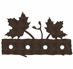 Maple Leaf Bath Light