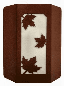 Maple Leaf Sconce Wall Light
