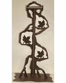 Maple Leaf Toilet Paper Stand