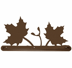 Maple Leaf Towel Bar