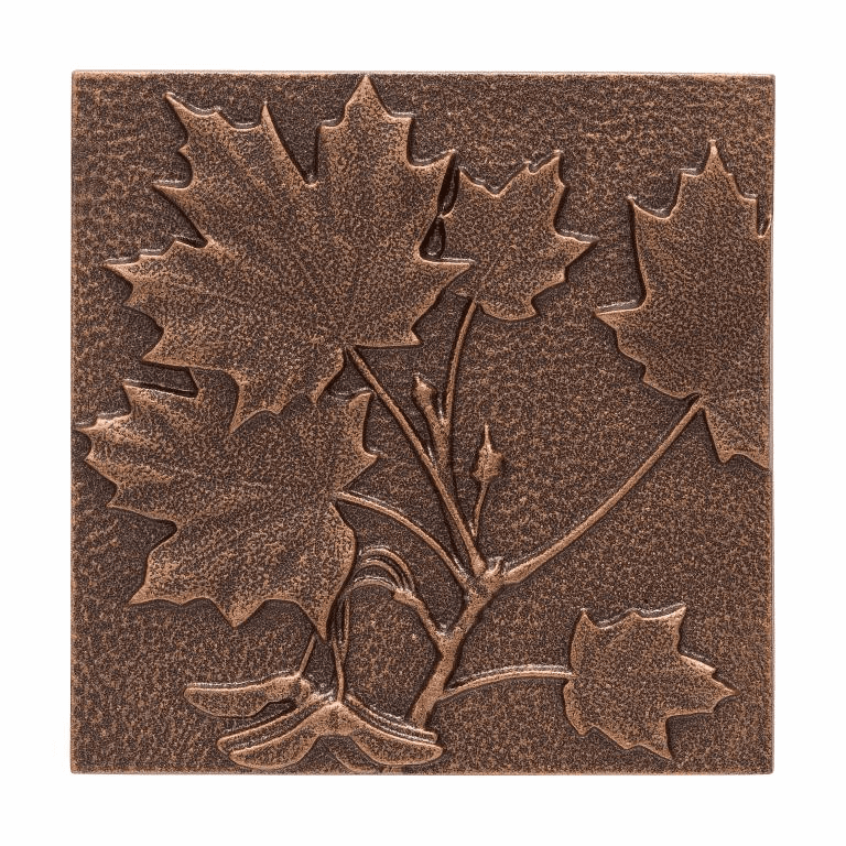 Maple Leaf Wall Decor - Antique Copper