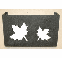 Maple Leaf Wall Mount Magazine Rack