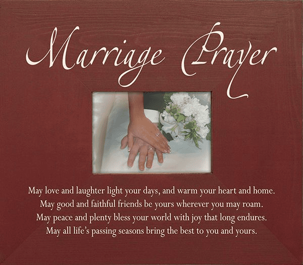 Marriage Prayer Frame
