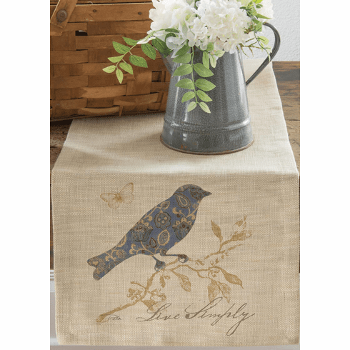 Meadow Song Live Simply Large Table Runner
