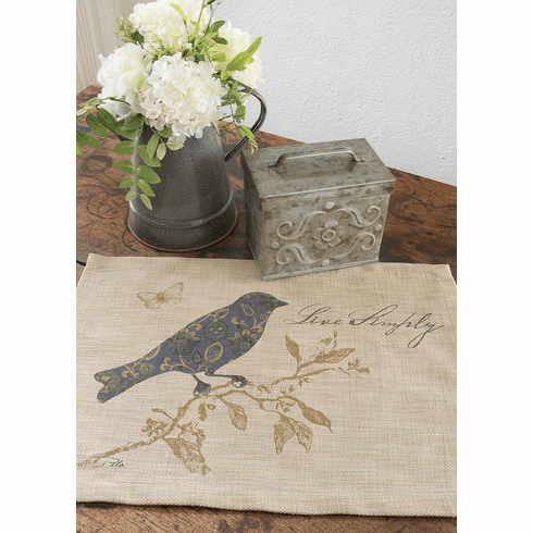 Meadow Song Live Simply Placemat, set of 2