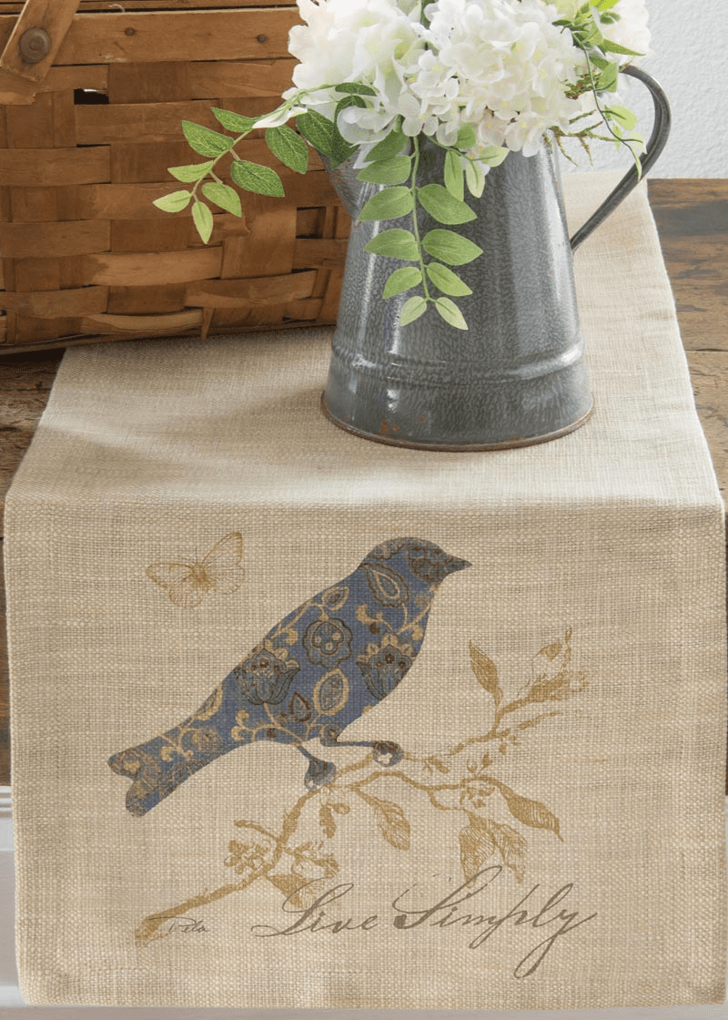 Meadow Song Live Simply Small Table Runner