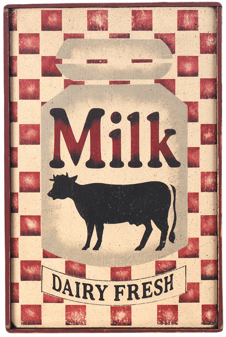 Milk Can - Dairy Fresh