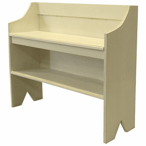 Modular Bench with Shoe Storage, 36 inch wide