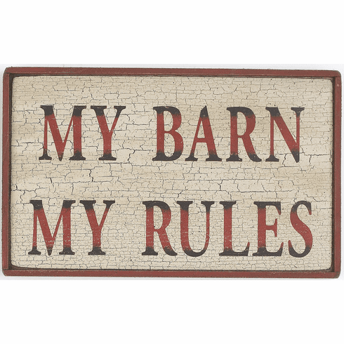 Mom Gift - My Barn My Rules