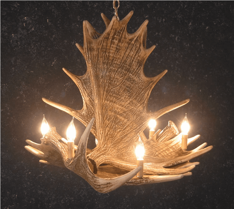 Moose Antler Lighting - Moose Decor