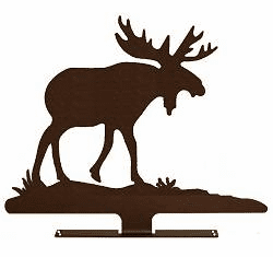 Moose Design Mailbox Topper - Wildlife Decor