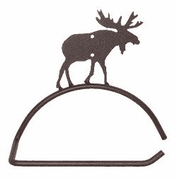Moose Design Paper Towel/Toilet Paper Holder