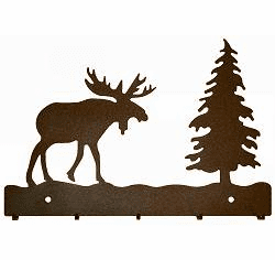 Moose Key and Accessory Holder