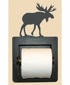 Moose Toilet Paper Holder (Recessed)