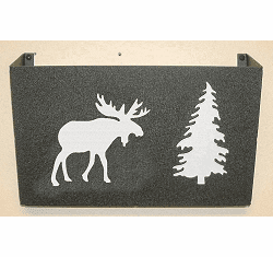 Moose Wall Mount Magazine Rack