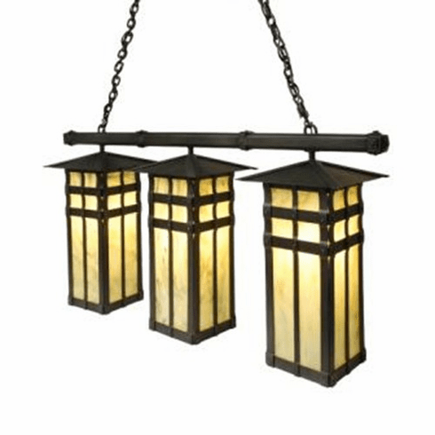 Mountain Modern Anacosti San Carlos Triple Pendant Light