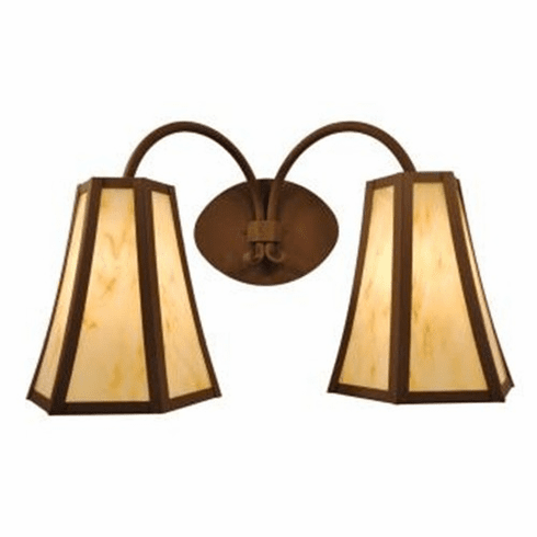 Mountain Modern Blanca Double Wall Sconce