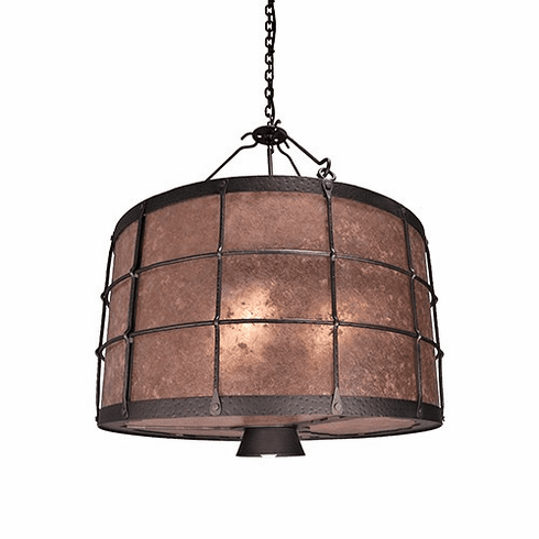Mountain Modern Ferron Forge Down Light Chandelier
