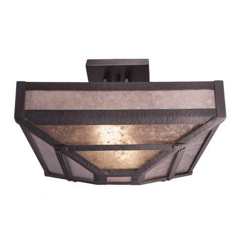 Mountain Modern Martis Four Post Ceiling Fixture