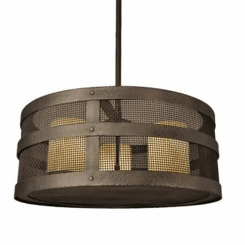 Mountain Modern Open Portland Mesh Chandelier