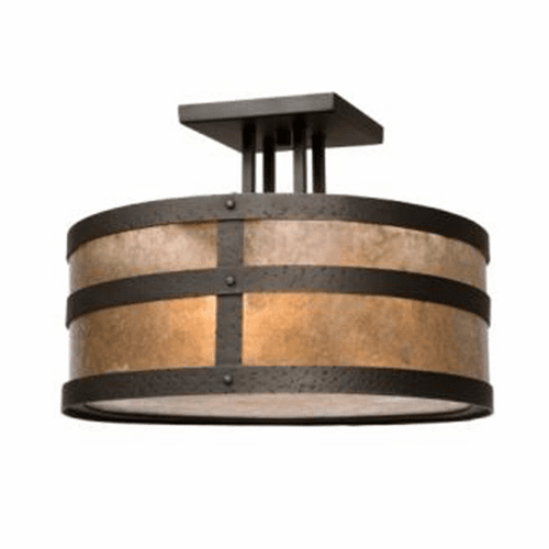 Mountain Modern Portland Round Drop Ceiling Mount