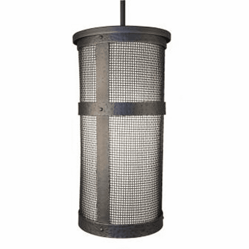 Mountain Modern Portland Tall Mesh Pendant Light with Lid