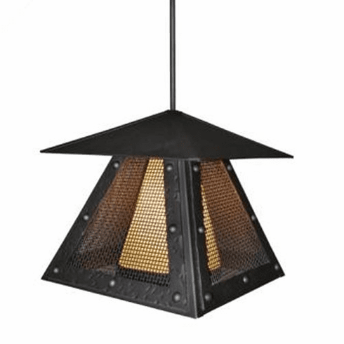 Mountain Modern Prairie Rogue River Mesh Pendant Light