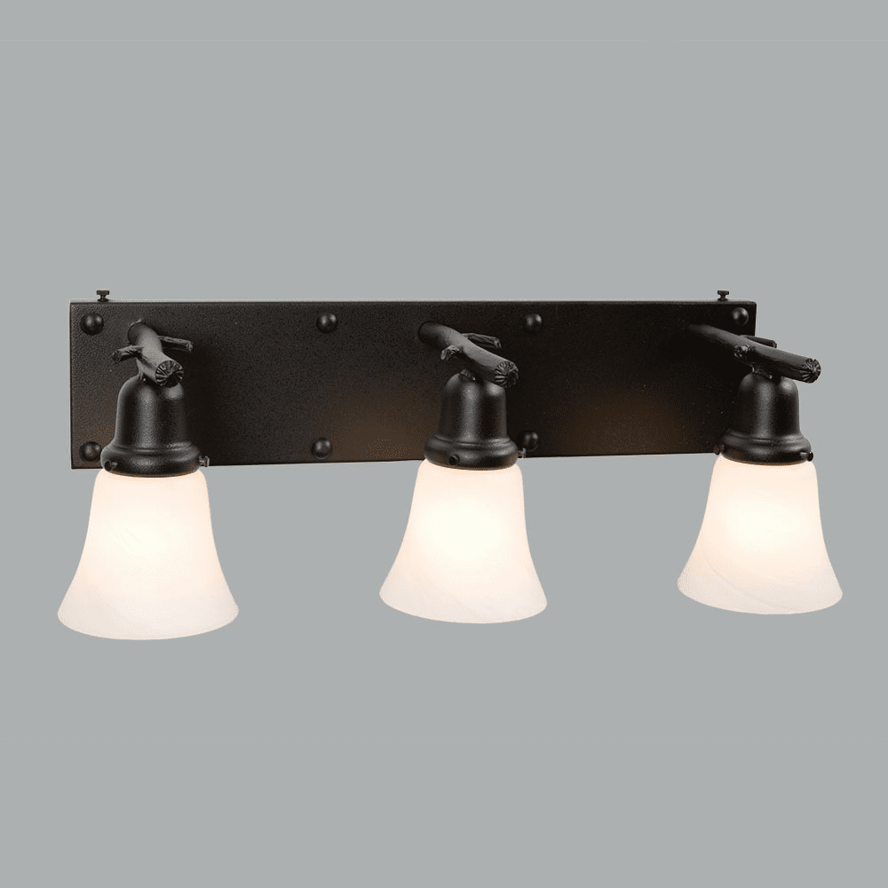 Mountain Modern Rivets Glacier Vanity Light