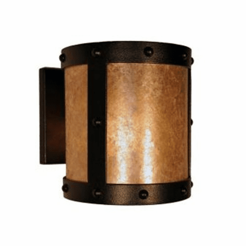 Mountain Modern Rivets Open Wall Sconce