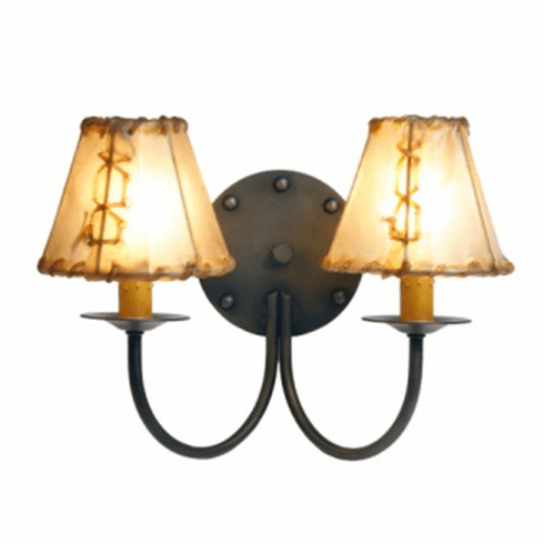 Mountain Modern Rivets Wall Sconce