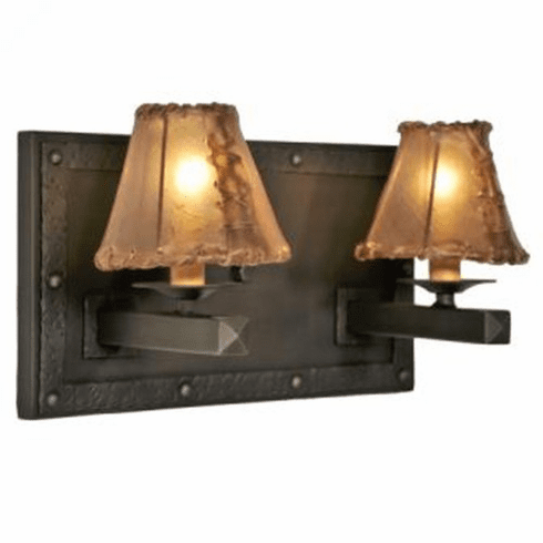 Mountain Modern Rogue River Double Wall Sconce