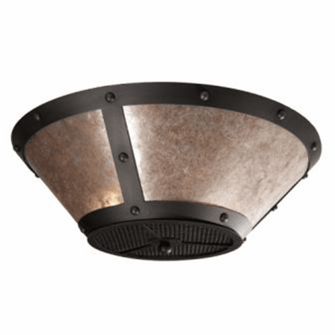 Mountain Modern Rogue River Ranch Round Drop Ceiling Mount